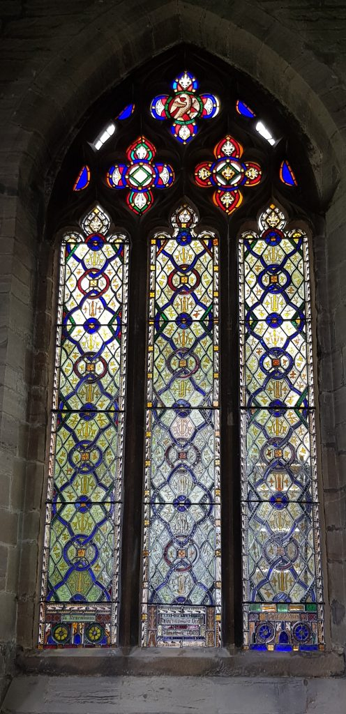 A set of newly restored stained glass windows for St Andrews Church, Kegworth