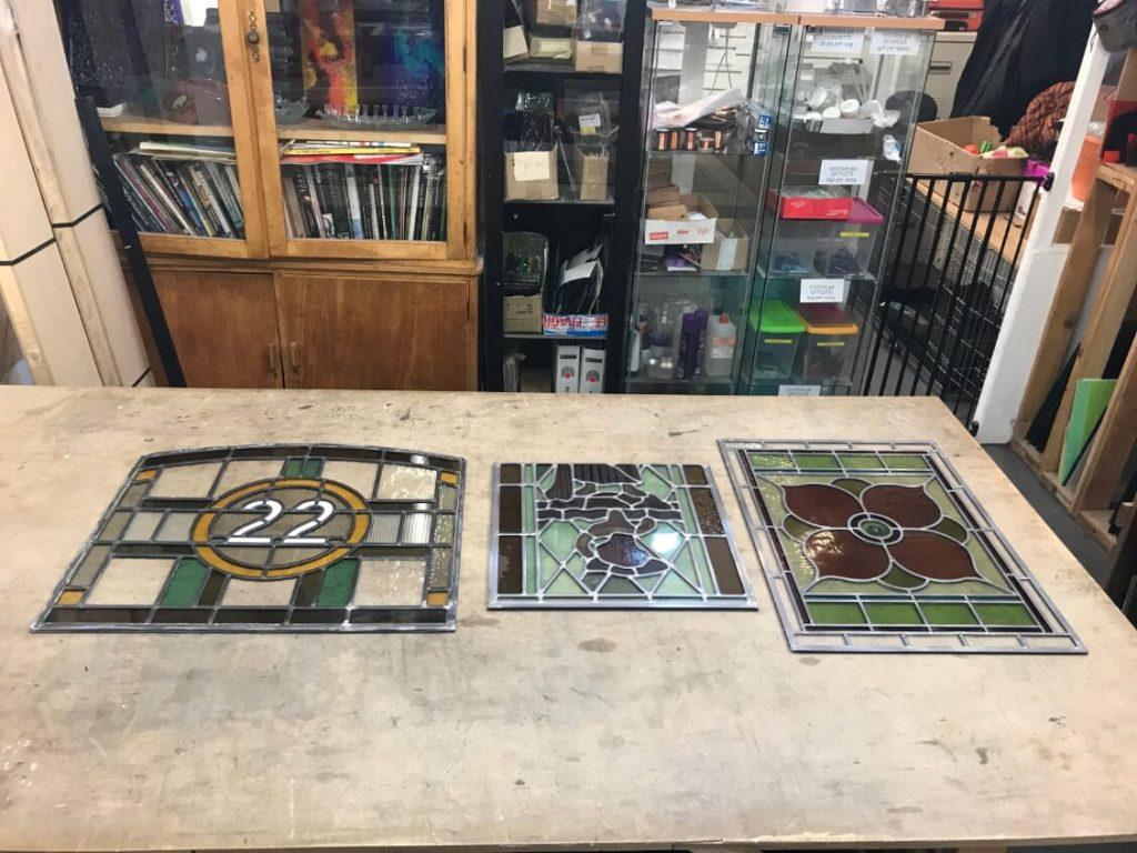 Finished panels