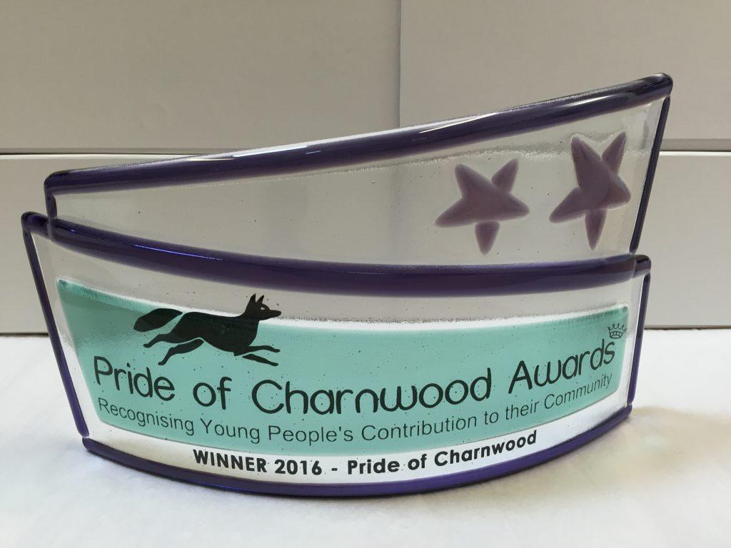 Pride of Charnwood award