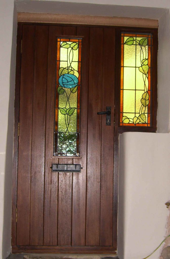 Door and side panel