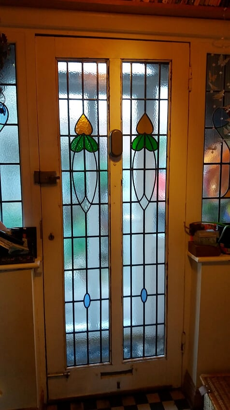 Restored door panels